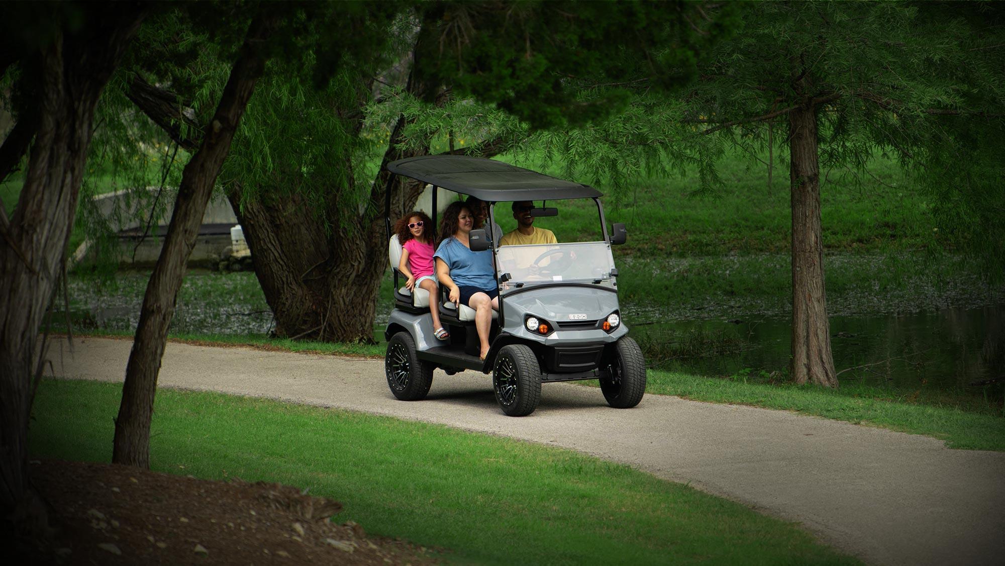E-Z-GO Environmentally-Friendly Golf Cart