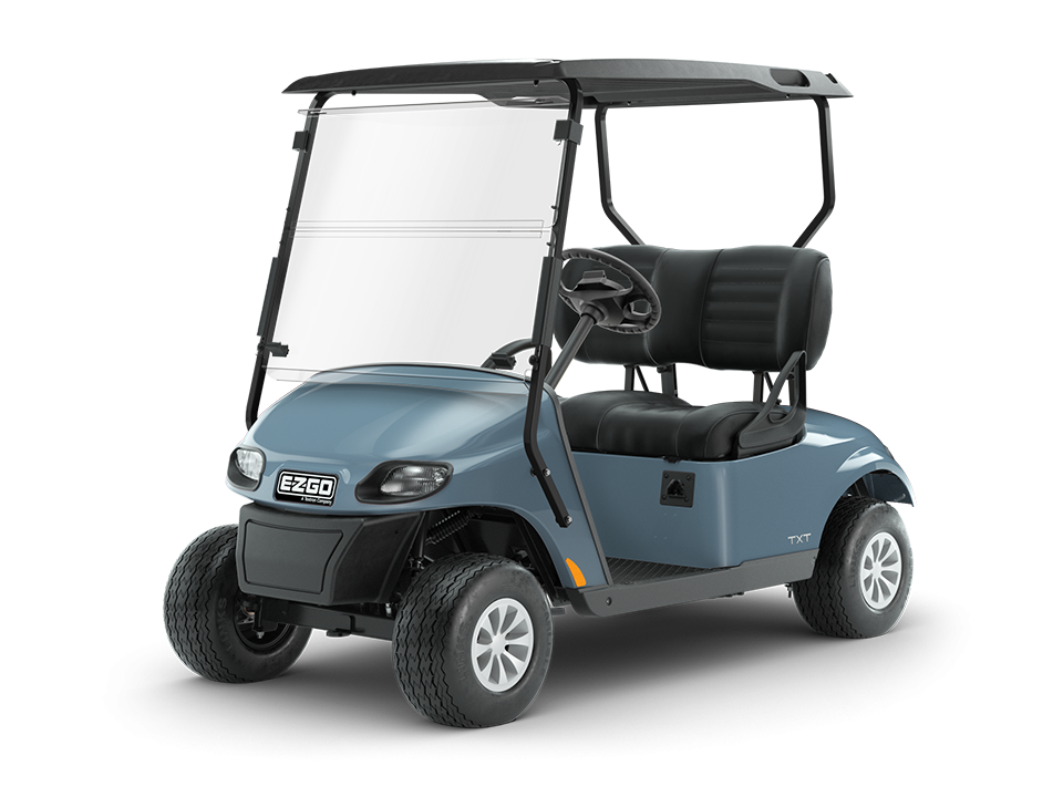 EZGO Freedom TXT Ocean Gray with Tire Accessory