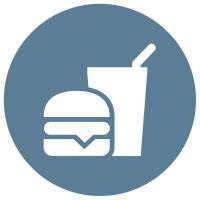 Textron Fleet Management Food and Beverage Icon